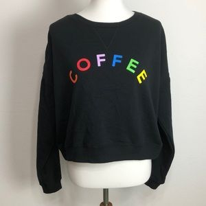 Fifth Sun Crew Neck Graphic Sweatshirt, NWOT